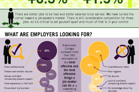 Job Market Improving: What Employers Want in 2015  Infographic