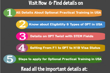 Jobs in USA for opt students Infographic
