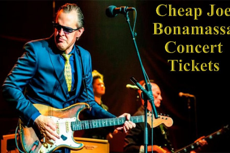 Joe Bonamassa Concert Cheap Tickets Infographic