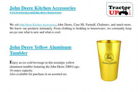 John deere kitchen accessories Infographic