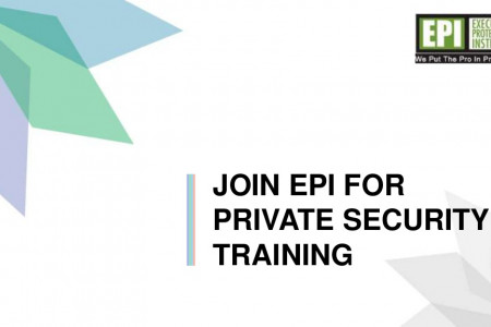 Join EPI for private security training Infographic