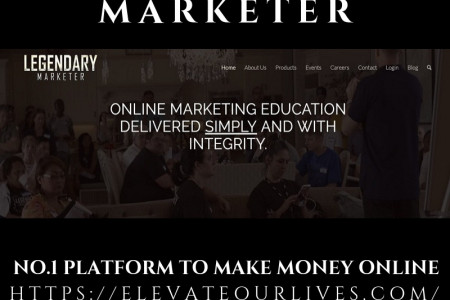 Join Legendary Marketer - Learn Affiliate Marketing from Top Gurus Infographic