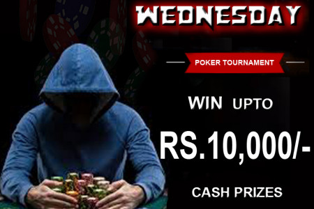 Join #MEGA #WEDNESDAY #POKER #TOURNAMENT - Bunga365 Infographic
