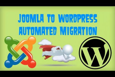 Migrate Joomla to WordPress Infographic