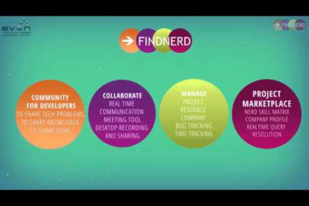 Journey of Web App Development Company With FindNerd Community Infographic