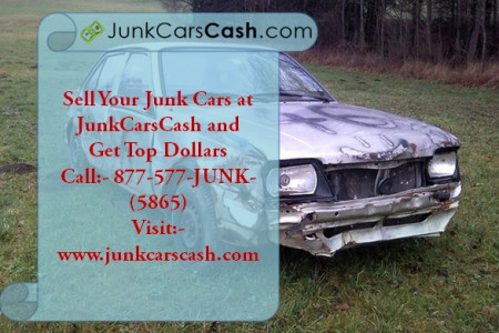 Junk cars for cash Infographic