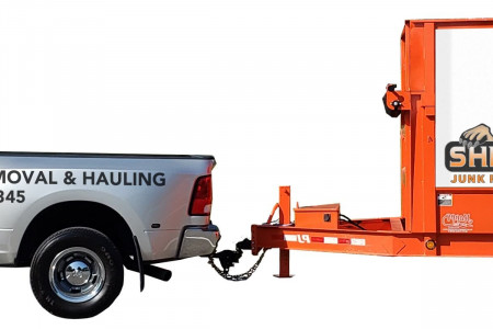 Junk Removal Services Knoxville and Hauling by Shepherds Infographic