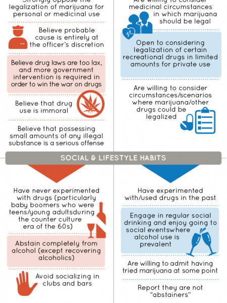 Juror Characteristics to Look for in Drug Cases Infographic