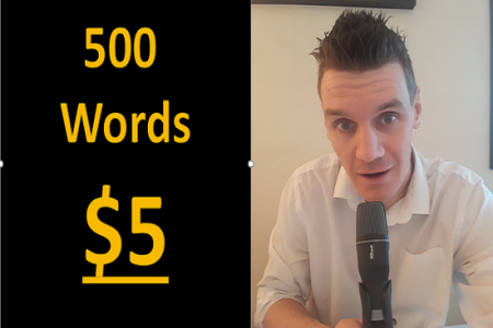 Just $5 For a British Sounding Voice Over For Any Type of Media You Require! Infographic