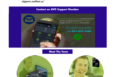 Just Dial AVG Tech Support Number +1-855-676-2448 Infographic