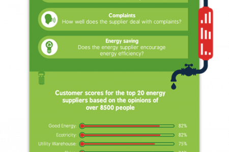 Just How Turbulent is The Relationship Between Energy Suppliers and Their Customers?  Infographic