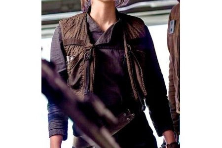 Jyn Erso Star Wars Jacket with Vest - Samish Leather Infographic