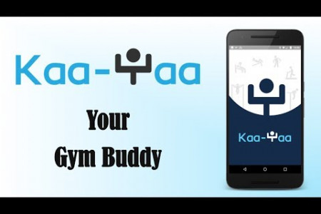 Kaa-Yaa Health and Fitness App Infographic