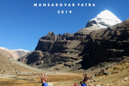 Kailash Mansarovar Yatra from Lucknow by helicopter Infographic
