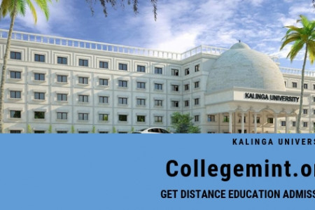 Kaling University Distance Admission Courses & Fees Structure Infographic