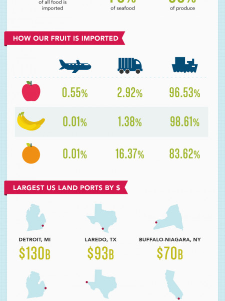 Food Transport Infographic