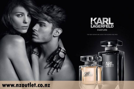 Karl Lagerfeld Cologne Infographic