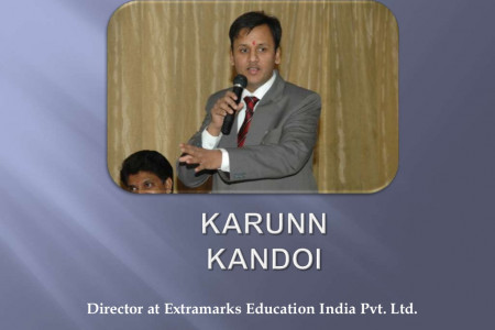 Karun Kandoi - Director of Extramarks Education India Pvt. Ltd. Infographic