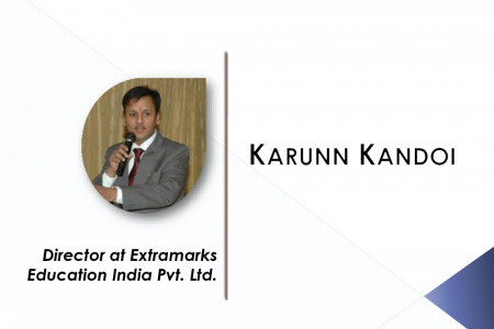 Karunn Kandoi - Director - Extramarks Education Pvt. Ltd. Infographic