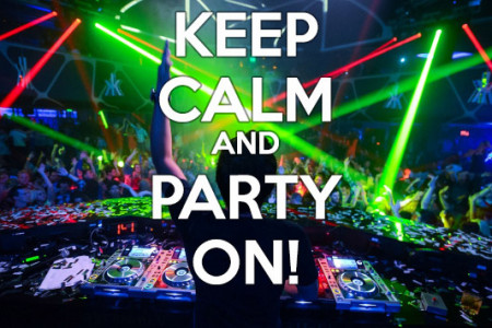 Keep Calm and Party On Infographic