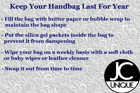 Keep your bag last for year Infographic