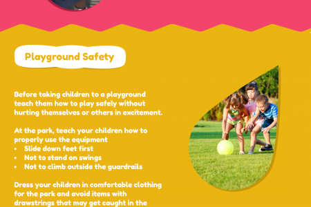 Keep Your Child Safe With This Outdoor Safety Tips Infographic