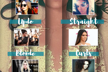 Kendall Jenner's Best Hair Moments Infographic