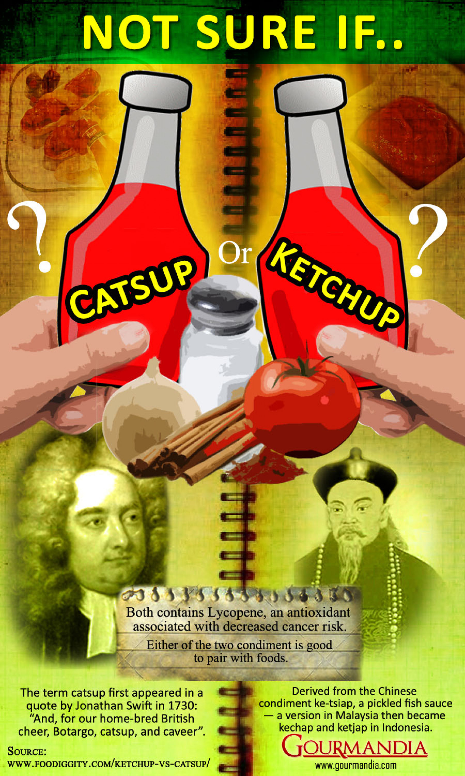 Ketchup or Catsup? Infographic