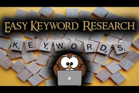keyword research for dummies Infographic