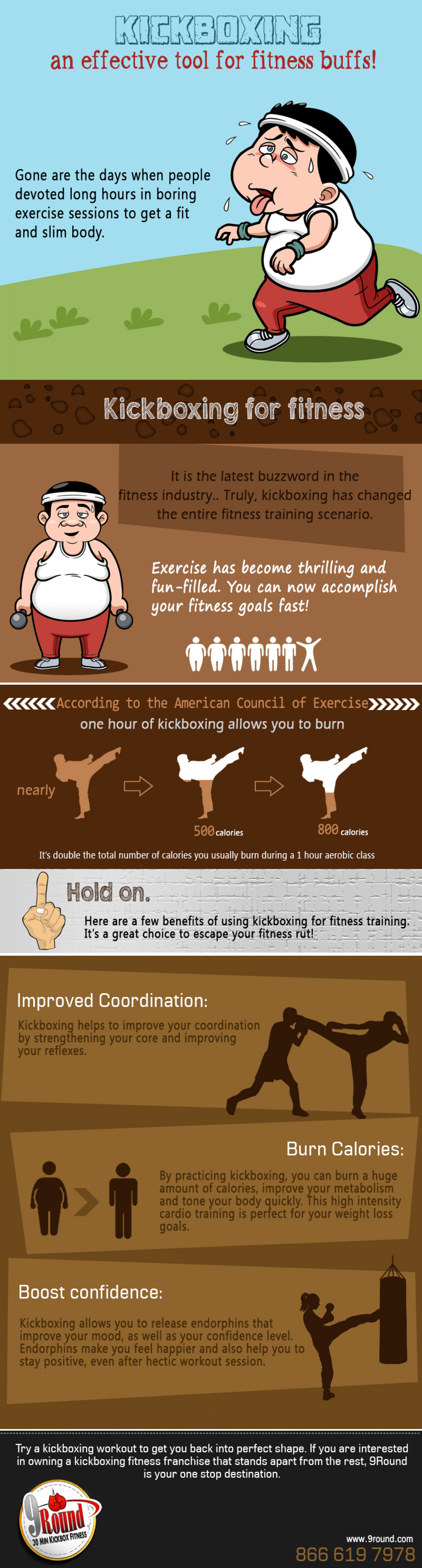 Kickboxing – an effective tool for fitness buffs! Infographic