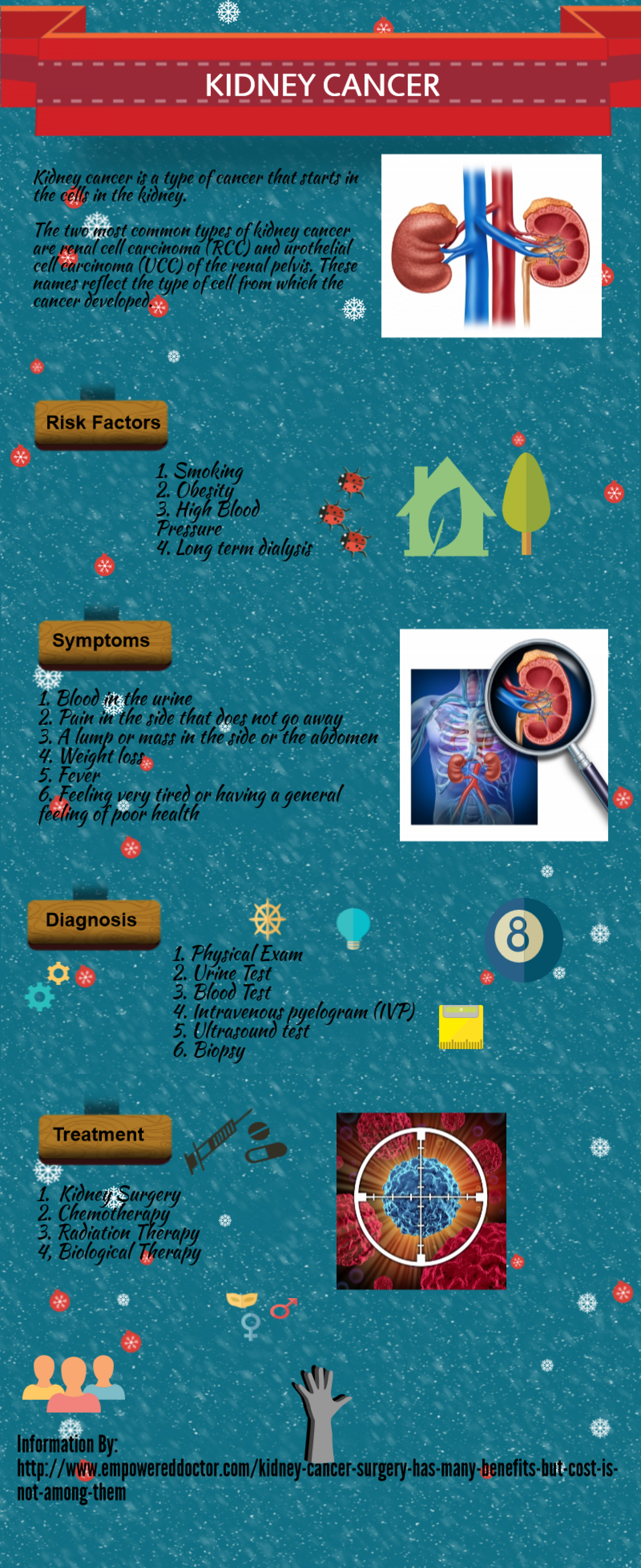 Kidney Cancer Visual Ly