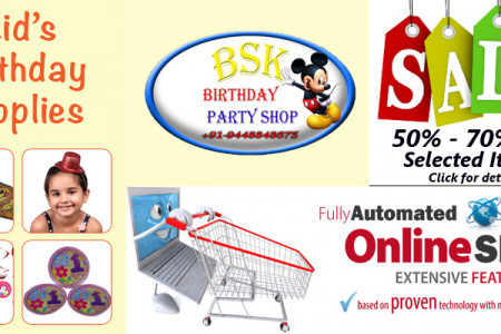 Kids Birthday Party Costume Supplies Infographic