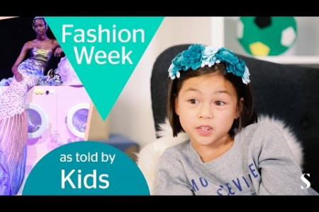 Kids Review the Craziest Looks from Fashion Week SS16 Infographic
