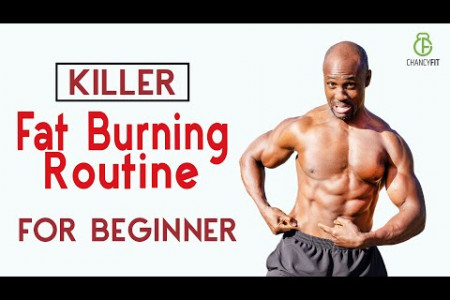 KILLER FAT BURNING ROUTINE FOR BEGINNERS Infographic