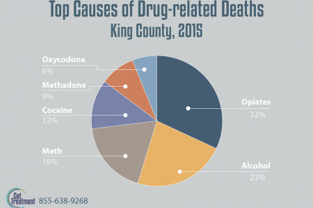King county and used drugs Infographic