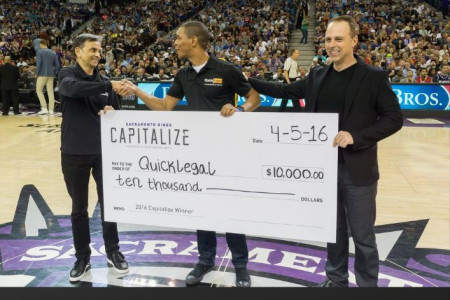 Kings Fans Pick Winner of Team's Tech Startup Challenge Infographic