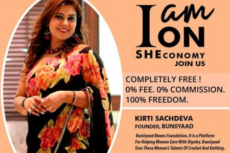 Kirti On SHEconomy Infographic