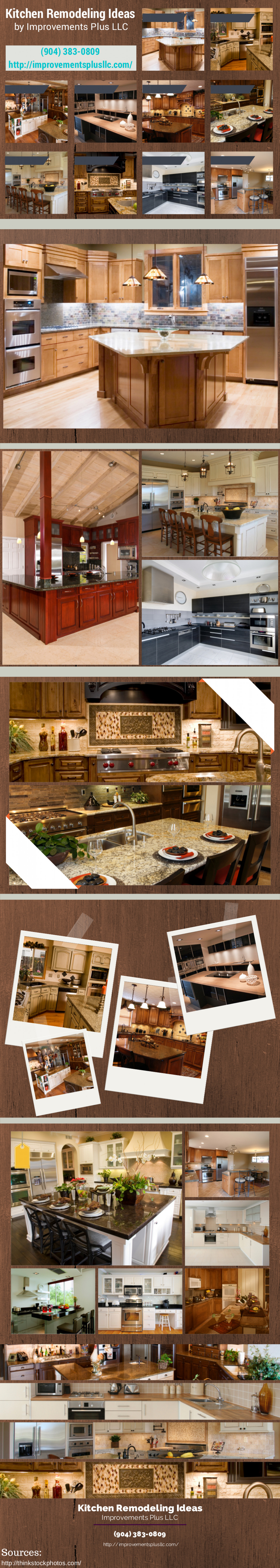 Kitchen Remodeling Ideas Infographic
