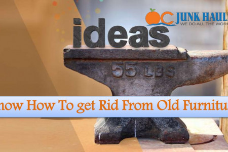 Know How To get Rid From Old Furniture Infographic