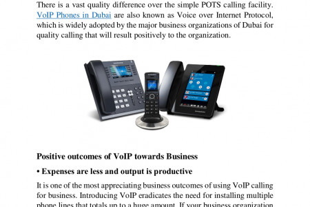 Know the Efficacy of VoIP Phones Infographic