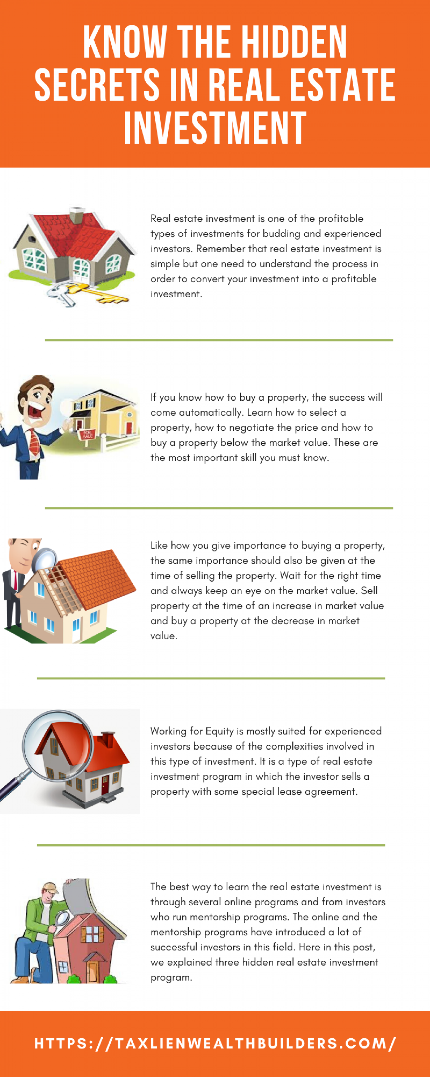 Know the Hidden Secrets in Real Estate Investment Infographic