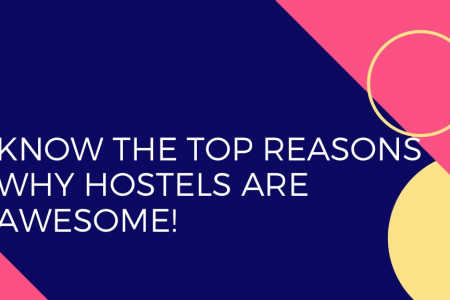 Know The Top Reasons Why Hostels Are Awesome!  Infographic