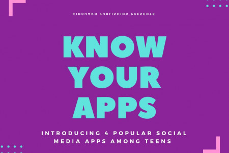 Know Your Apps: Introducing 4 Popular Social Media Apps Amongs Infographic