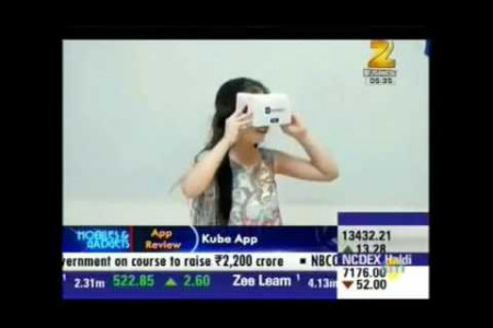 KOMPANIONS on Zee Business!-Educational Games for Kids Infographic