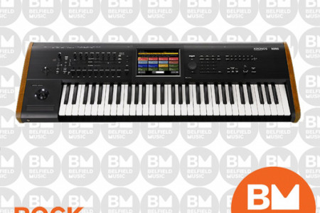 Korg Kronos 2 73 Key Keyboard Workstation Infographic
