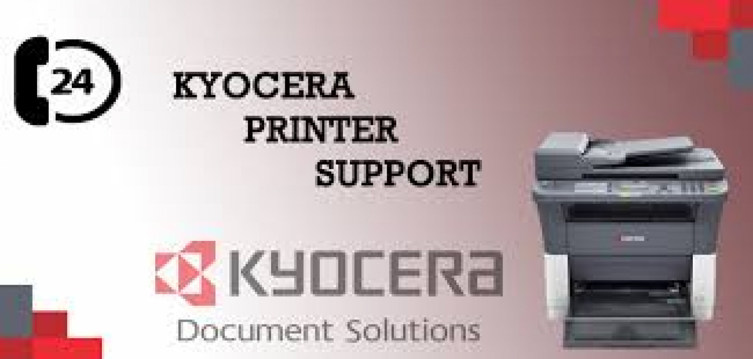 Kyocera Printer Technical Support Phone Number +1-888-597-3962 Infographic