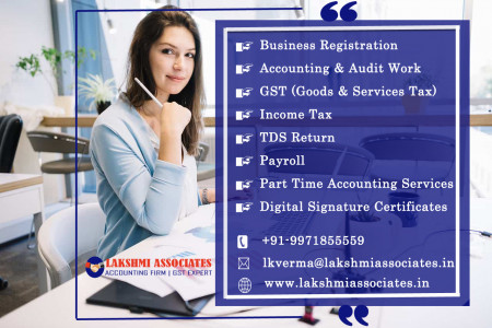Lakshami Associates: CA in Gurgaon | Best Tax Consultants & Accounting Firms in Gurgaon Infographic
