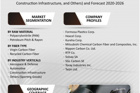 LAMEA Carbon Fiber Market Size, Share, Growth, Research and Forecast 2020-2026 Infographic