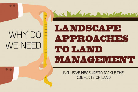 Landscape management Infographic