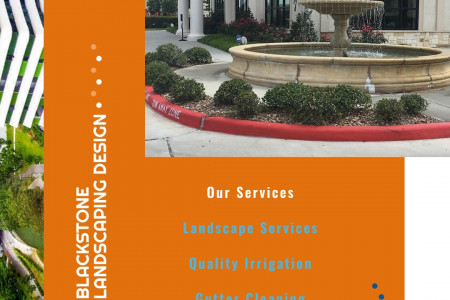 Landscape services - How to design your lawn Infographic